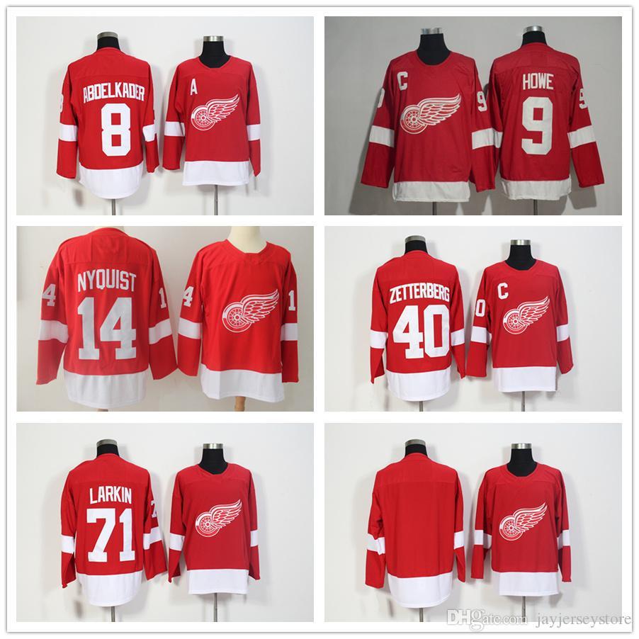 ... new style spain detroit red wings justin abdelkader jersey e6155 8689b  fde67 5e0ed authentic mens ... 3f44e768b