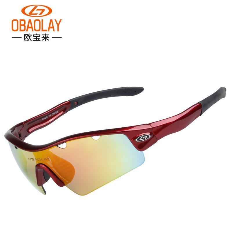 a1a4d584bab2c OBAOLAY Cycling Glasses Polarized Windproof MTB Bike Goggles Gafas Ciclismo  Bicycle Sunglasse Eyewear 5 Lenses Oculos Ciclismo Cycling Eyewear Cheap  Cycling ...
