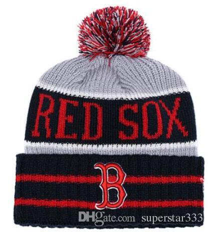 Compre 2019 Invierno Boston Beanie Sox Beanies Sombreros De Calavera Para  Hombres Mujeres Gorro De Lana De Punto Gorro De Punto Para Hombre Gorros De  Punto ... 56399abdde6