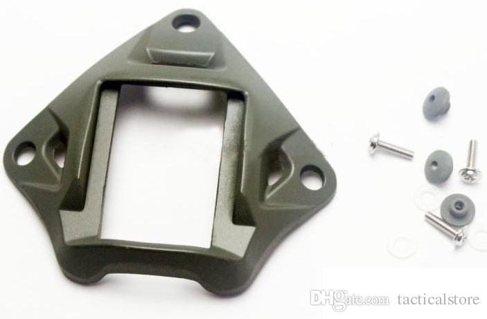 Tactical Ops-core Vas Sudário lightweighting capacete de alumínio visão noturna NVG Monte chocos secos Fit ACH MICH PASGT Preto / Tan