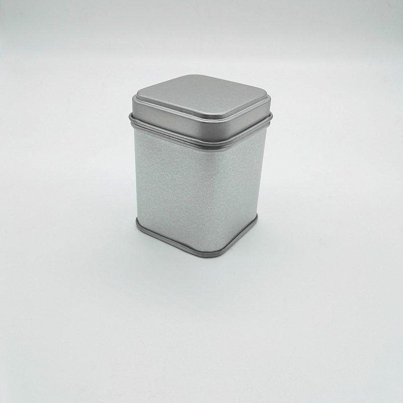 50 г жестяные металлические банки для хранения бутылки банки металлические банки чай Кэдди мини конфеты маленькие герметичные канистры портативный путешествия чайная коробка F20173085