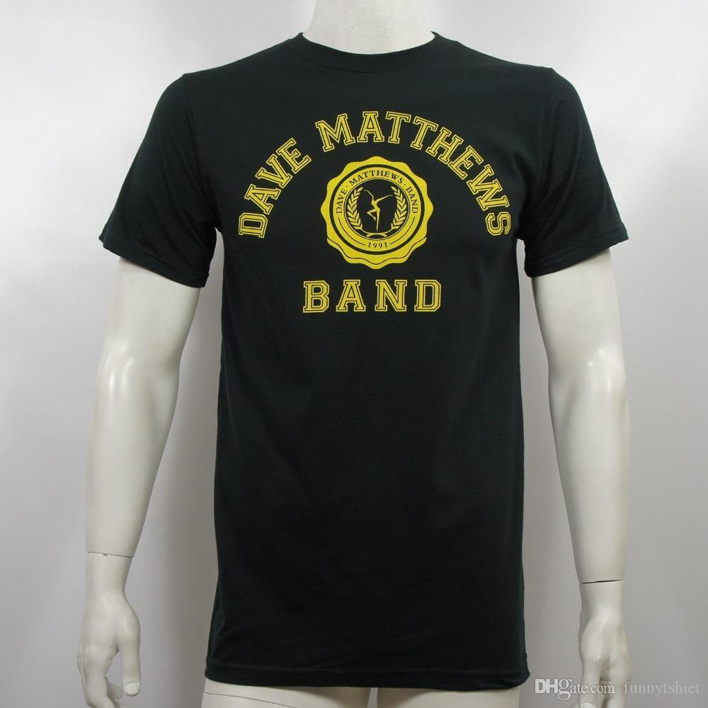ba2da1d4108fc4 2018 Crossfit T Shirts Authentic DAVE MATTHEWS BAND Collegiate T Shirt S M  L XL 2XL NEW Men S Shirts Men Clothes Novelty Cool T Shirt With Design It T  Shirt ...