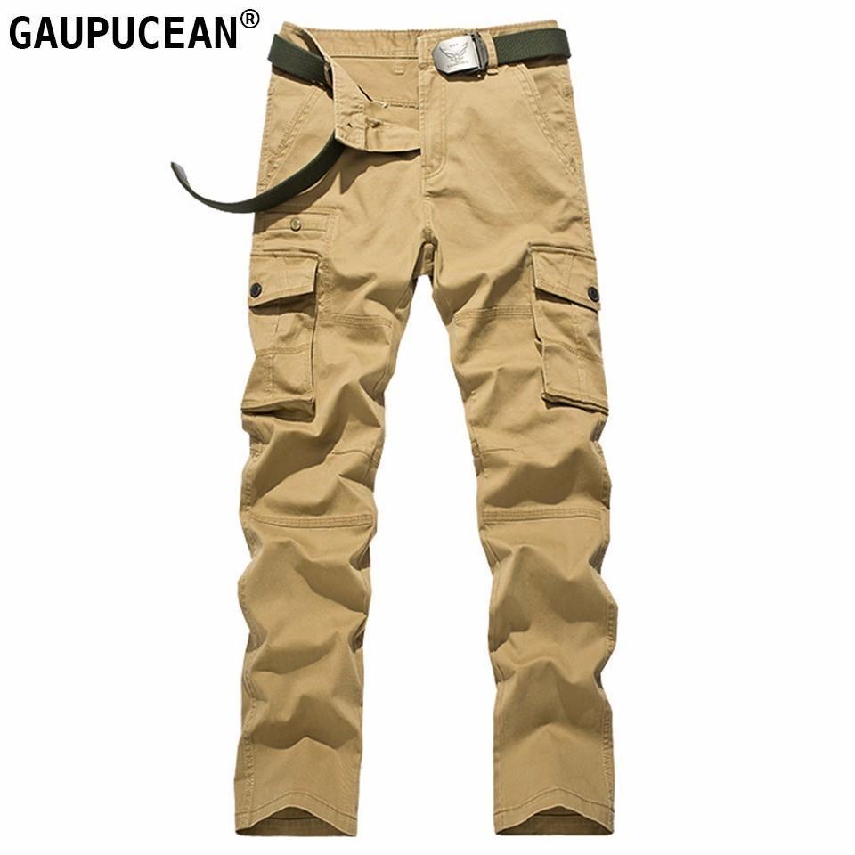Homme Armée Poche Acheter Cargo Coton 100 Pantalon Mode qwx7HA4E