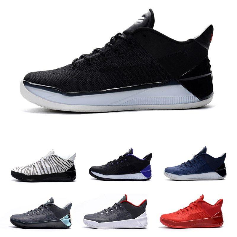 pretty nice acfa0 251bd Großhandel 2018 Kobes 12 Xii Ad Schwarz Gold Männer Basketball Schuhe  Billig Lila Rot Weiß Grau Blau Kobe 12s Elite Low Sport Sneakers Von  Hotyeezy, ...