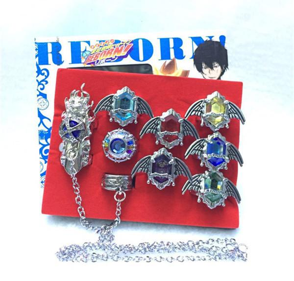 2018 Whole Salewholesale Anime Katekyo Hitman Reborn Ring Anime