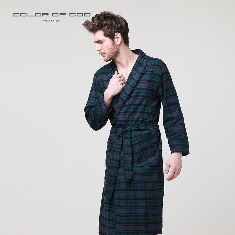 752fb0c52cd97 Kimono De Ropa Vestido Otoño Bata Compre Pijamas Baño Vestido Hombre De  Hombres 100 De Noche ...