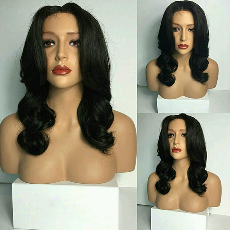 Brazilian virgin human hair wigs for black women Customized 10A Full Lace Wigs Most Popular Style Lace Front Wigs