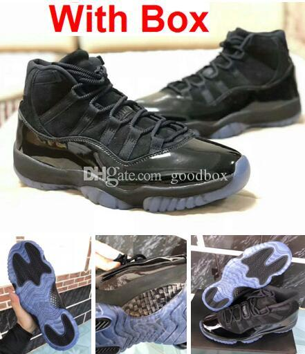 Real Concord 11s: 2018 New Blackout 11s Prom Night 11 Real Carbon Fiber Top
