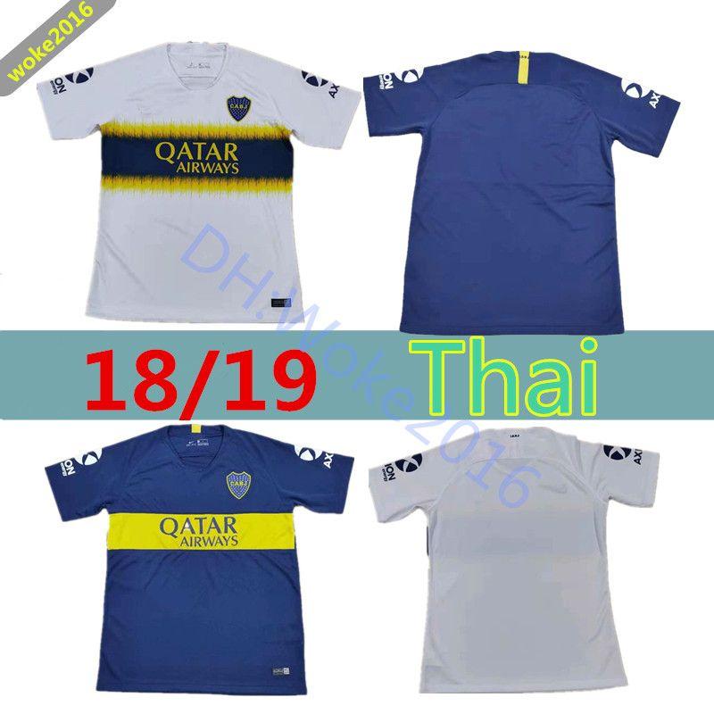 reputable site dff02 1ea3a NEUER Boca Juniors Trikot 18 19 thai-Qualität TEVEZ CARLITOS zu Hause  entfernt