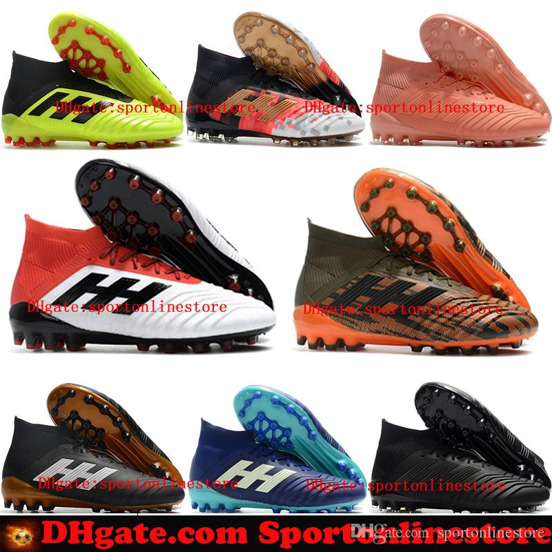 3d001bf4126 2018 New Arrival Cheap Soccer Shoes Predator Accelerator 18 Mens ...