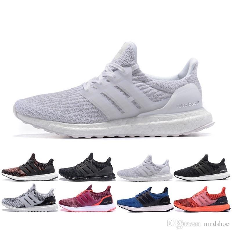 Compre Adidas 2017 De Alta Calidad Blanco Negro Ultra Boost 2 Zapatos Para  Correr Hombres Mujeres Ultraboost 2.0 Zapatillas Deportivas Unisex Deportes  ... f7c3961c346d8