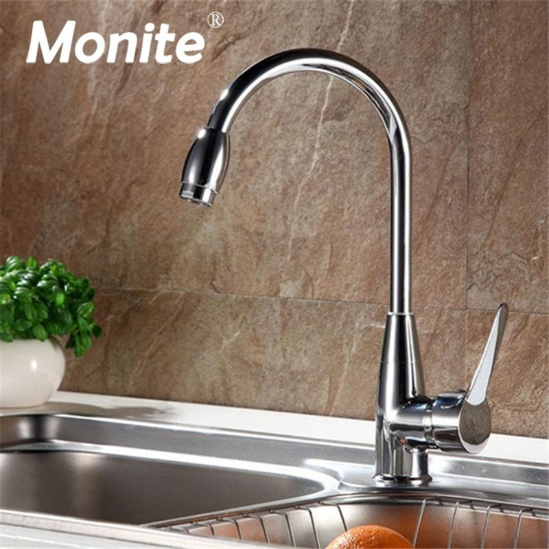 2019 360 Swivel Kitchen Basin Sink Mixer Tap Fashionable Chrome