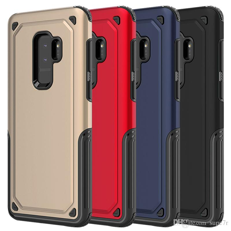 best loved e3581 7ddf1 For Samsung Galaxy S9 S9 Plus S8 S7 Edge Note 8 iPhone x Shockproof Hard  Hybrid Armor Case