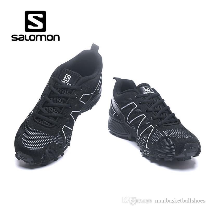 For Mountain Sneaker Mens Knit Salomon Shoes Flying Trail Running tsxhrdQC