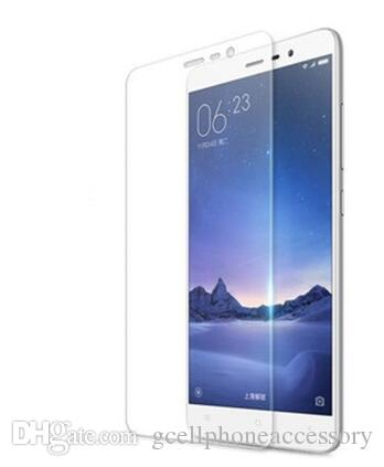 2.5D 0.3MM 9H قسط الزجاج المقسى ل Xiaomi Redmi 2 3 Redmi Note 2 Note3 ل Xiaomi واقي شاشة الهاتف
