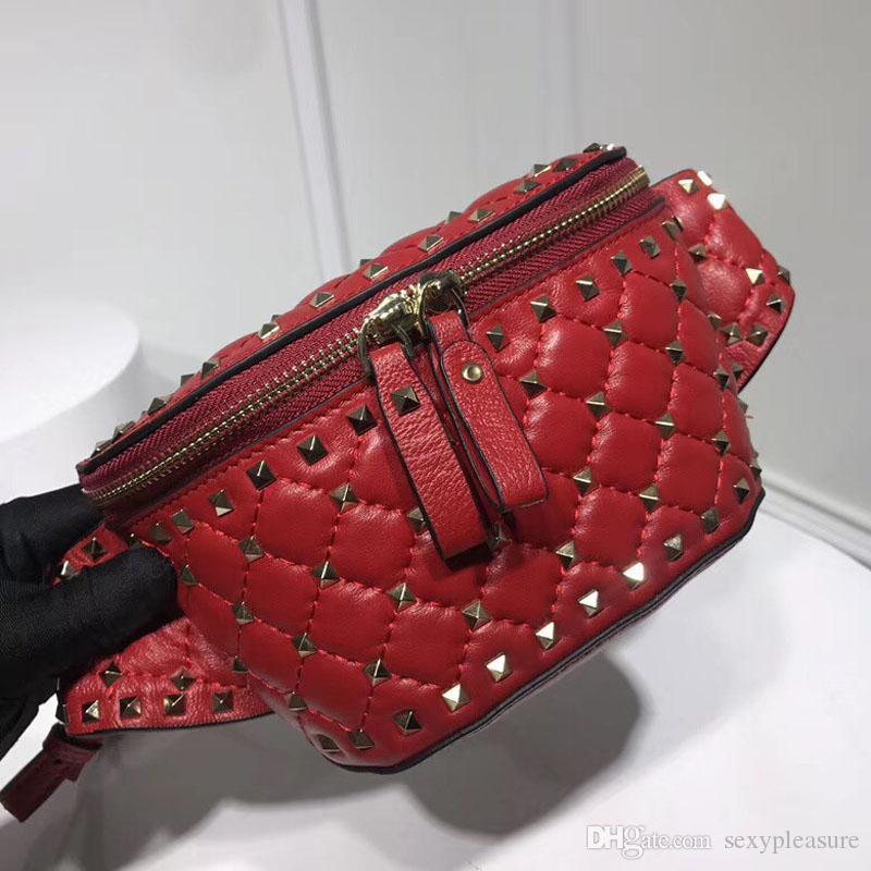 Acheter Nouvelle Arrivée Dame Poches Luxe Waist Pack Marque Designer Femmes  Sacs À Main Haute Qualité En Cuir Véritable Embrayage Sac S317 De  107.06  Du ... 24d9c4aa3a6
