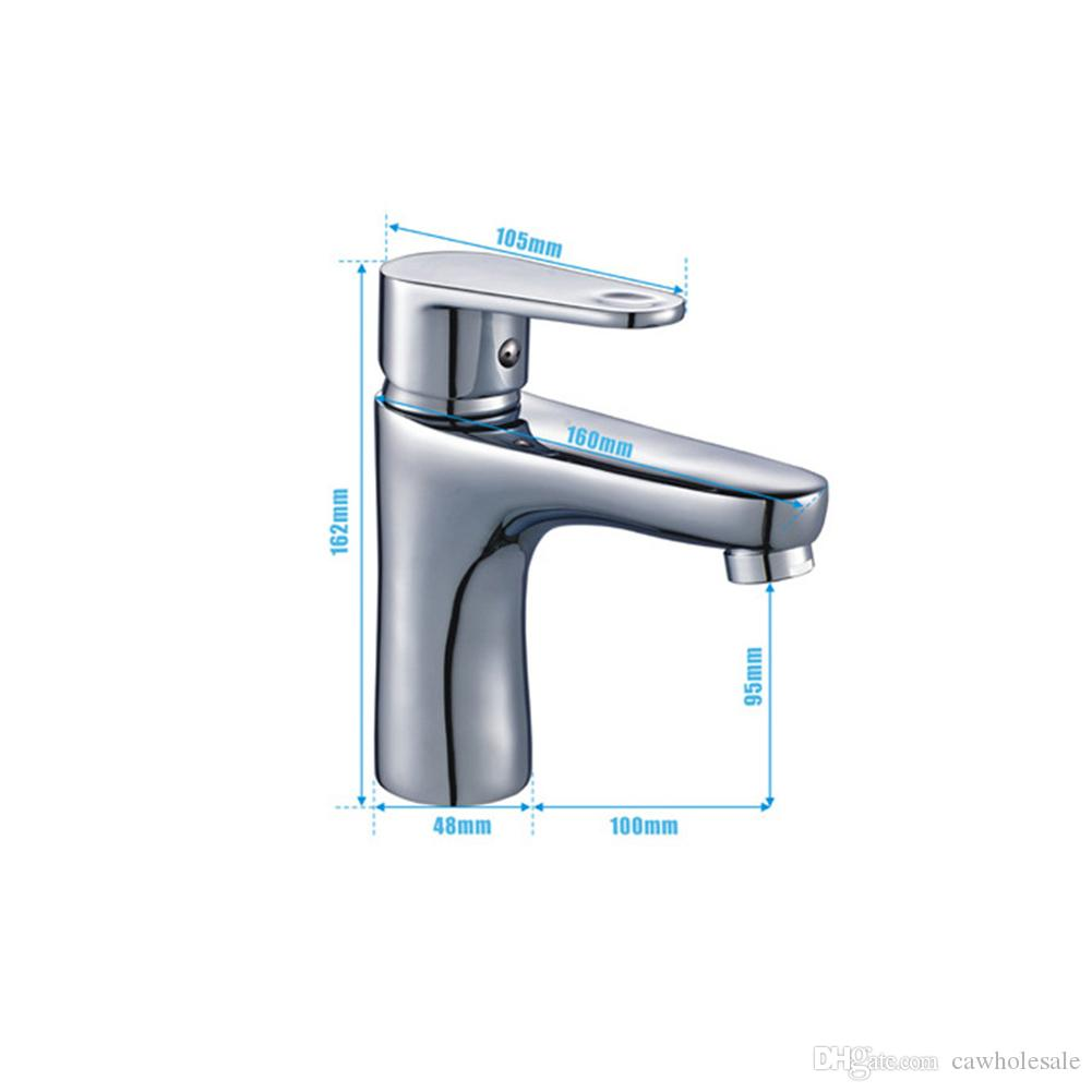 Modern Single Handle Wash Basin Faucet Bathroom Sink Faucet with ...