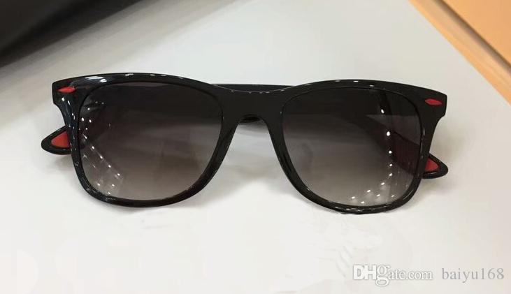 5366416081198 Mens Vintage Shinny Black Grey Sunglasses Size 52-20-150 Luxury Sunglasses  Eye Wear New with Box Sunglasses Men 4195 Oculos De Sol 4195 Sunglasses  Online ...