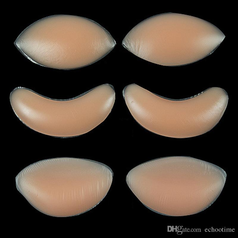 243601b29 2019 Chicken Fillets Silicone Breast Enhancers Bra Insert Pad Silicone Bra  Push Up Invisiable Inserts Breast Enhancers Pads OPP Packing From  Echootime