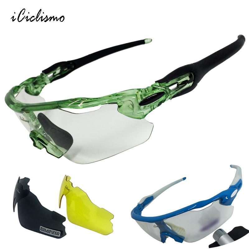 8ce6e6eedd Gafas De Ciclismo Fotocromáticas Hombres Mujeres Gafas De Bicicleta Mtb  Bicicleta Polarizada Ciclo Gafas Deportes Gafas De Sol De Ciclo Al Aire  Libre Por ...