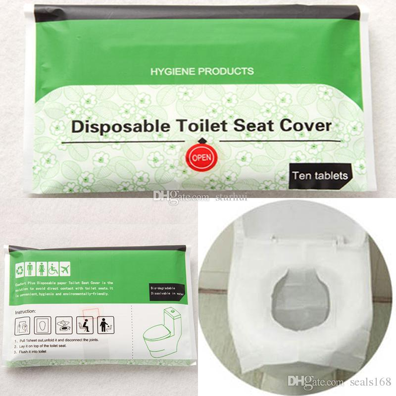 Magnificent Disposable Toilet Seat Cover Travel Hotel Toilet Seat Covers Camping Festival Travel Loo Wc Mat Paper Seat Wx9 442 Pdpeps Interior Chair Design Pdpepsorg