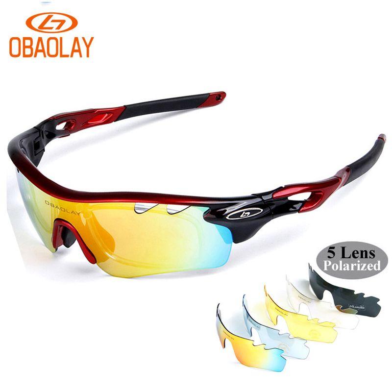 6a86a470dd854 2018 OBAOLAY Polarized Bicycle Eyewear Outdoor Sport Cycling ...