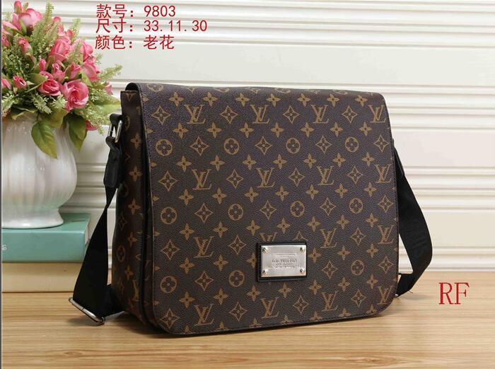 AAA Brand Designer Men Genuine Leather Handbag Black Briefcase ... 96def4446b150