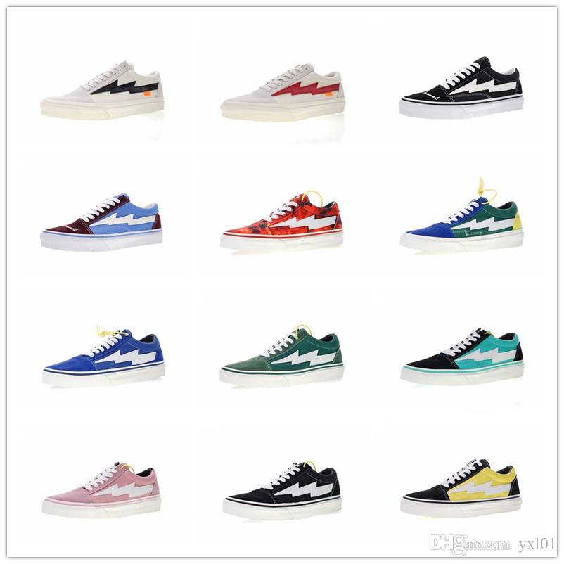 582ee416268e1 Hot Designer Revenge X Storm Pop Up Store 2 3 Champion Sk8 Hi Casual Canvas Shoes  Old Skool Women Mens Chaussures Fashion Sneakers Size35 44 Gold Shoes Mens  ...