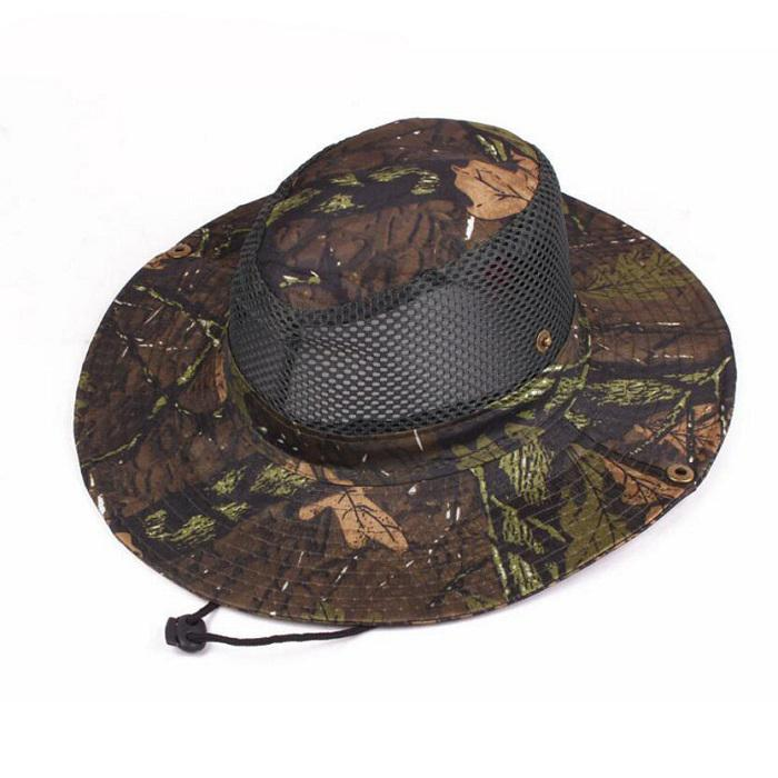 70bf2ef3cfe67 2019 Multicam Nepalese Boonie Hats Tactical Airsoft Sniper Camouflage Tree Bucket  Cap Accessories Military Army American Military Men From ...
