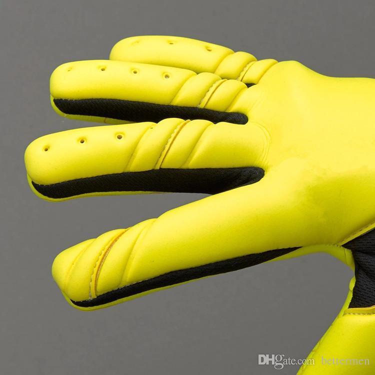 Новый Цвет SGT Взрослый Вратарь Перчатки Футбольные Перчатки Без Fingersave Футбол Профессиональные Футбольные Перчатки Мяч