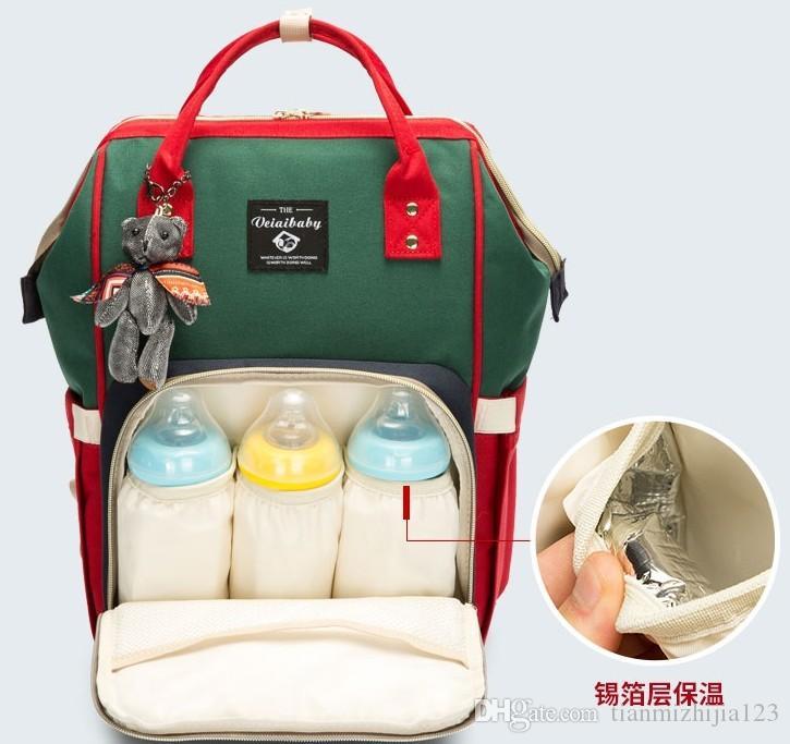 Сумка на плечо многофункциональный Мамми мешок большой емкости мать ребенка пакет, мода мама путешествия пакет