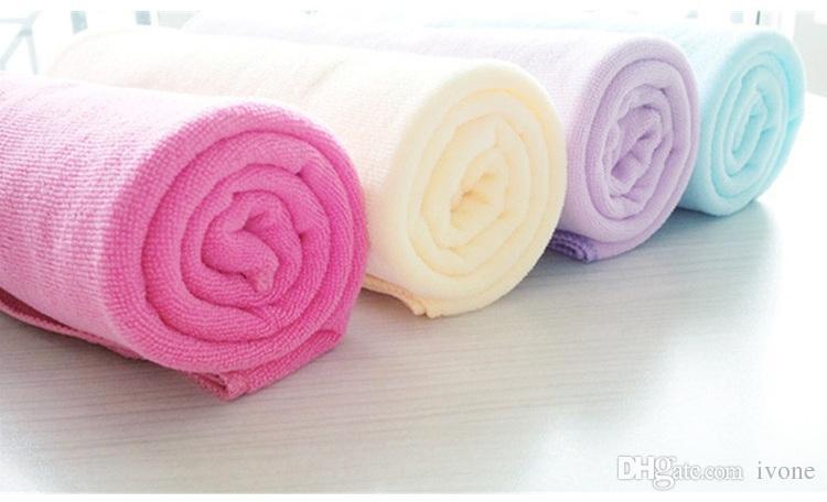 Super fine fiber beach towel 70*140 bath towel absorbent baby towels H1011