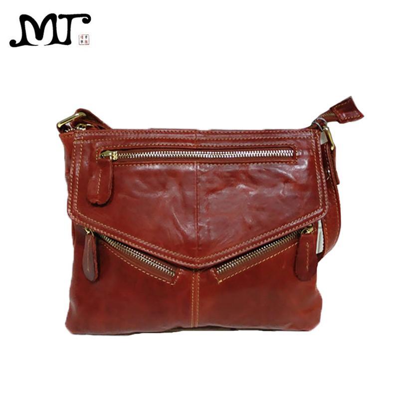 4532a989c5 MJ Brand Design Soft Genuine Leather Women Messenger Bags Real Leather  Crossbody Shoulder Bag Small Handbags Phone Bag For Girls Purses Wholesale  Fiorelli ...