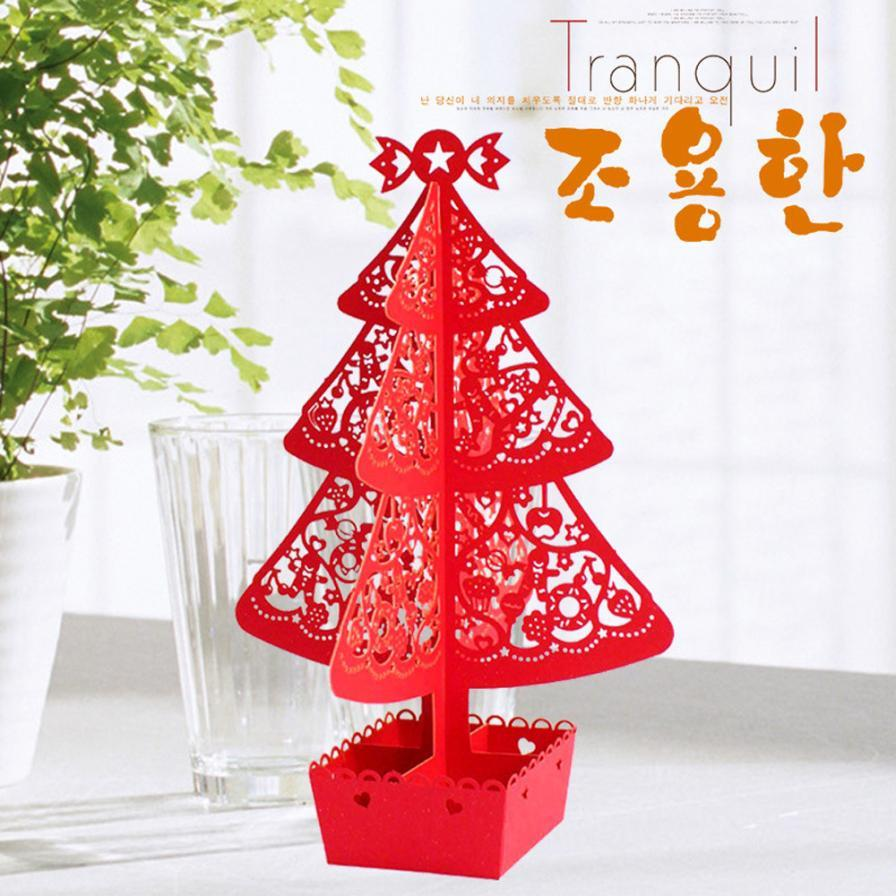 High Quality Merry Christmas 3D Cards Wedding Lover Happy Birthday ...