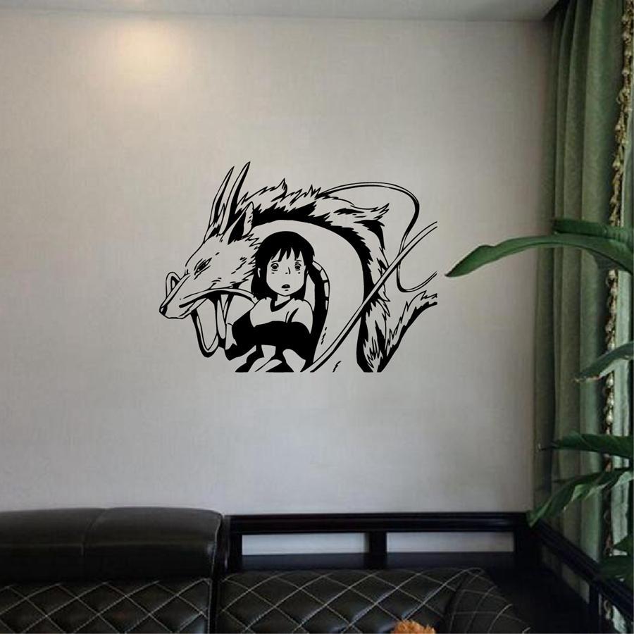 Genial Acheter Stickers Bambou Livraison Gratuite Japonais Style Stickers Muraux,  Spirited Away Inspiré Chihiro Kohaku Vinyle Wall Art Decal, P2063 De $13.19  Du ...