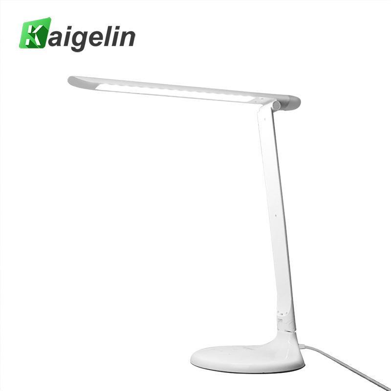 48+4 LEDs Student LED Desk Lamp 9W Folding Lamp Touch Sensor 3 Level Dimmable Color Modulation Table Lamp For School Children