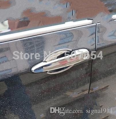高品質のABS Chrome 車のドアのハンドル装飾ガードカバー+ 4個のドアハンドルBMW x 3 2011-2014のための装飾的なガーンボウル