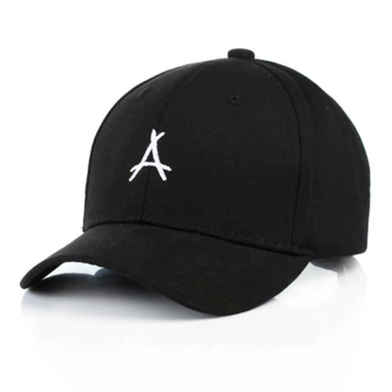 7c885bbee9b 2018 Geometric Triangle Embroidery Cotton Casquette Baseball Cap ...