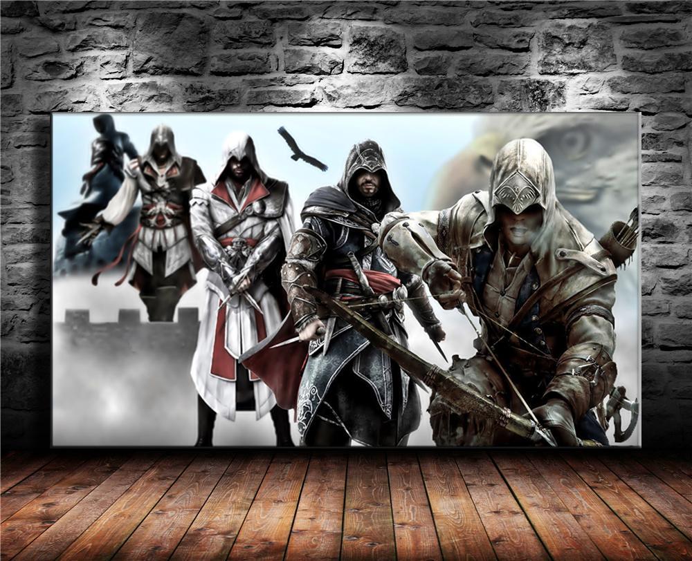 Großhandel Assassins Creed, 1 Stück Wohnkultur Hd Gedruckt Moderne ...