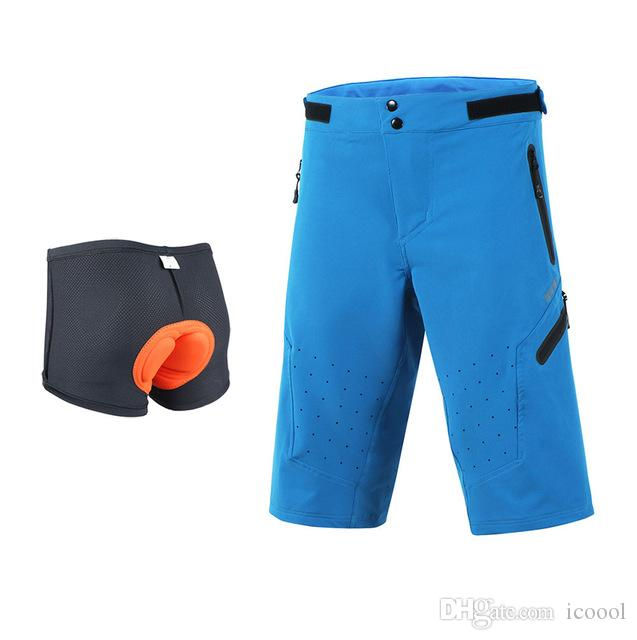 Wholesale Men S Cycling Shorts Downhill Mountain Bike Shorts 3D Padded Outdoor  Cycling Short Pants Bicycle DH BMX MTB Shorts Clothing Cycling Vest Baggy  ... dd6110f7f