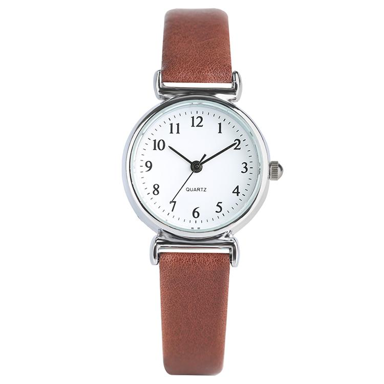 160b38e1400 Black White Brown Red Small Dial Women S Quartz Wrist Watch Leather Band  Elegant Casual Ladies Gift Online Watches Buy Buying Watches From Timepro