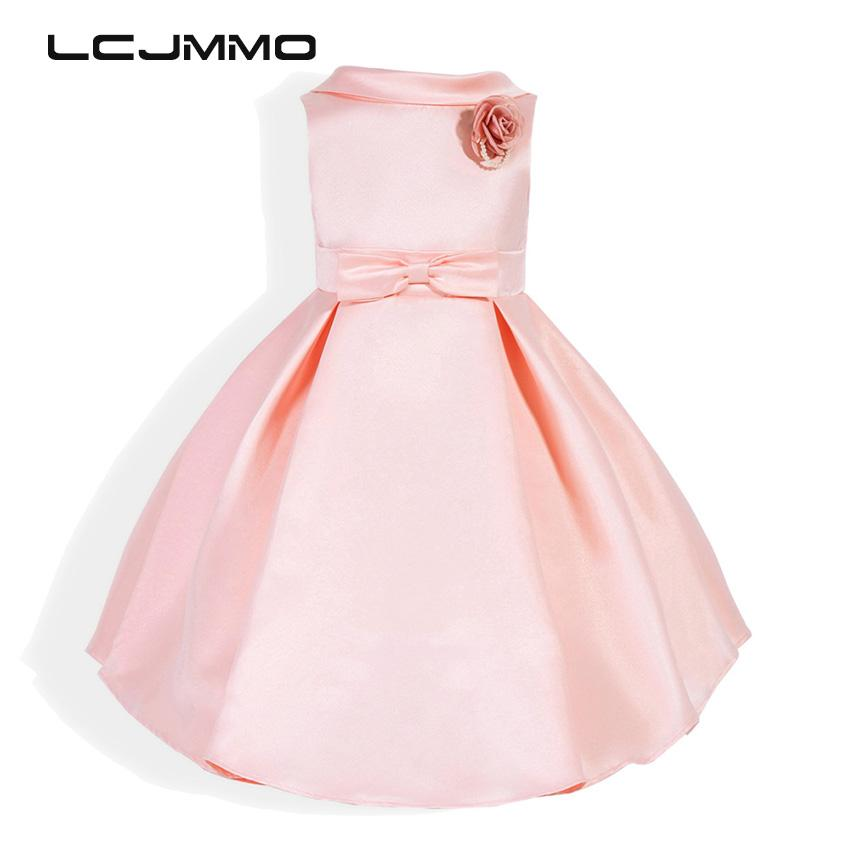 60e4f82bb4d8 2019 2018 Lememogo New Arrival Girl Party Dress Flower Chiffon Princess  Summer 2017 For Girls Kids Pageant Formal Wedding Birthday Dresses From  H6241163