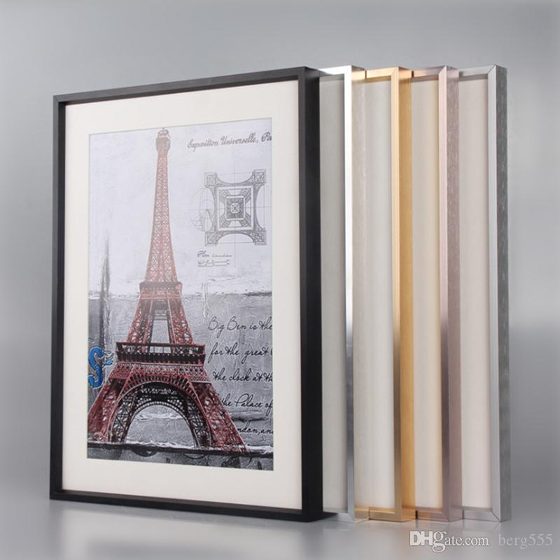 2018 50*70CM Factory Direct Wholesale Aluminum Frame Picture Frame ...