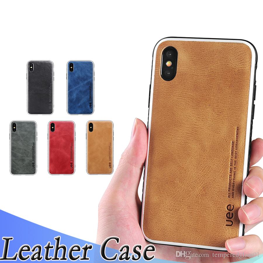 best sneakers b1864 76a8a Luxury leather apple phone case for iPhoneXs Max XR Xs simple matte drop  protection cover for iPhone6 7 8plus phone back cover