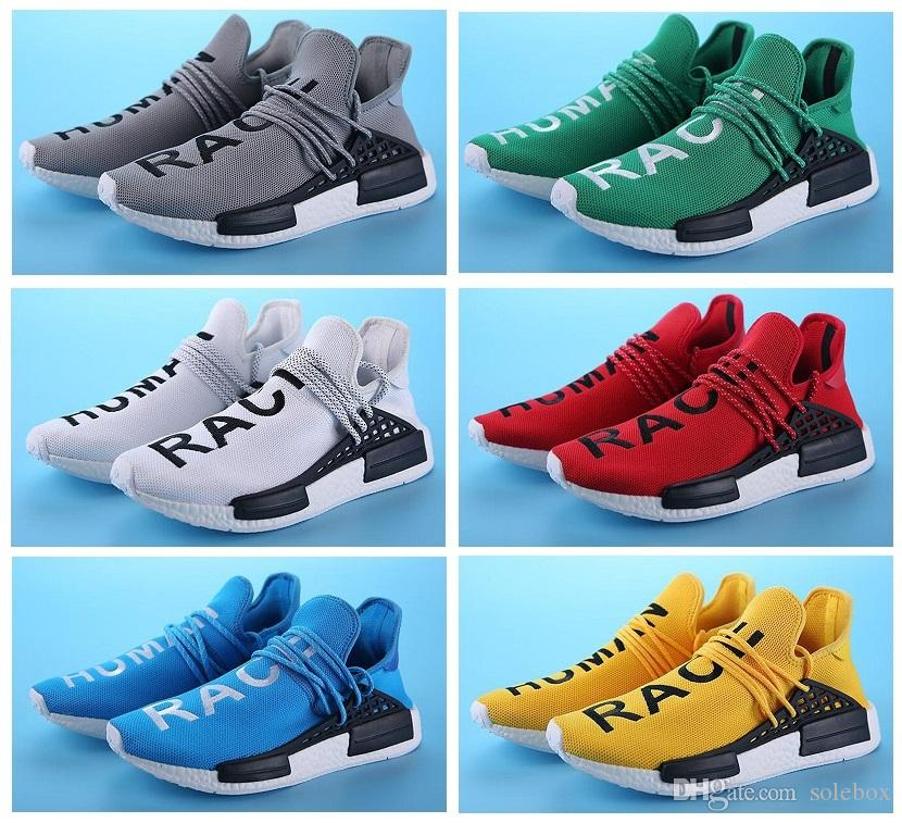 New Luxury brand men shoes Pharrell Williams Designer sneakers Sports Running Shoes Yellow Red Athletic mens Outdoor Training Sneaker Shoes buy cheap good selling shop for sale outlet with paypal sale outlet locations hot sale online tl62G1