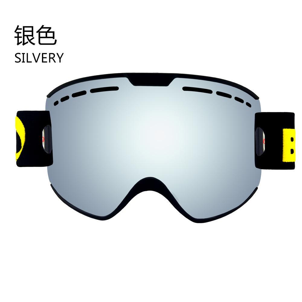 adf472b0213f 2018 Ski Goggles Snowboard Glasses UV400 Anti-fog Ski Glasses Men ...