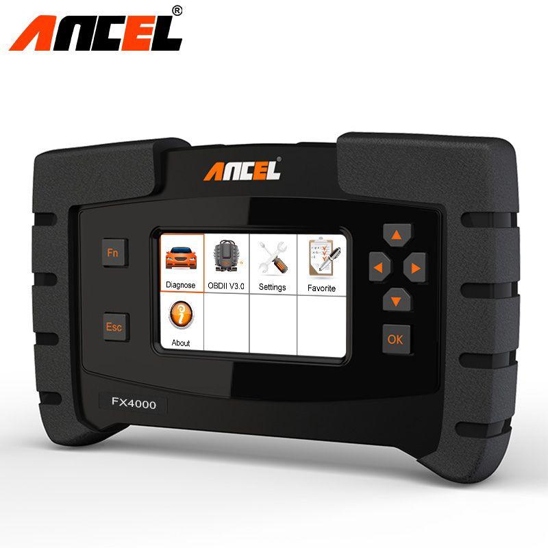 2019 Ancel Fx4000 Obd2 All System Automotive Scanner Check Engine