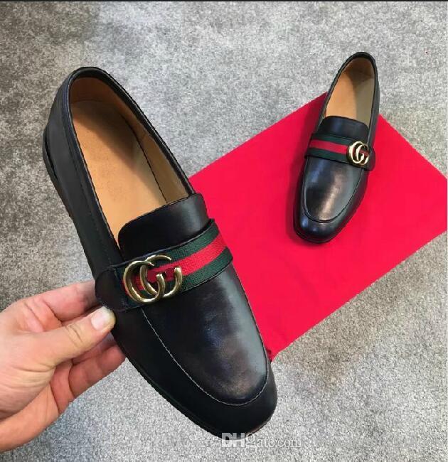 Top Luxury 2018 Brand Men Dress Shoes Man Formal Dress Wedding Shoes
