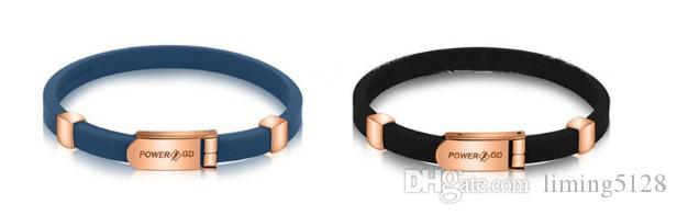 Negative Ion Bracelet Anti-Static Silicon Sports Bracelet