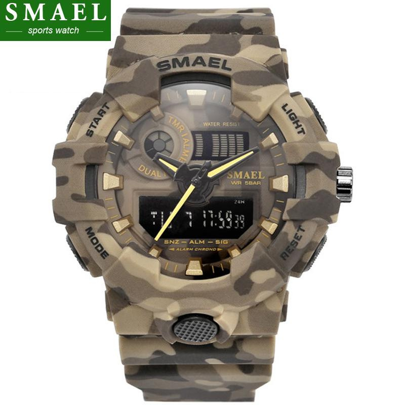 e98b39eada0c Waterproof Digital Watch Men Sports Watches Gift For Men Classic Timepiece  Clock Hours SMAEL Quality Brand Relogio Masculino S917 Best Wrist Watches  The ...